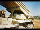 URAL 4320 with Iraqi MLR